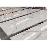 Wholesale Kitchen Calatta Quartz Stone Countertops Bacteria Resistant Long Lasting from china suppliers