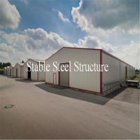 Wholesale Pre Engineered Steel Structure Storage Warehouse Building with Low Cost from china suppliers