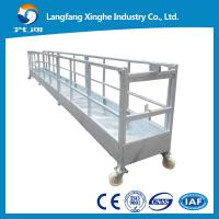 Wholesale Suspended access platform, wire rope hanging platform, suspended cradle from china suppliers
