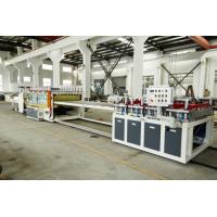 Quality Double Screw PVC / Wpc Profile Machine Floor Wall Panel Board Extrusion for sale