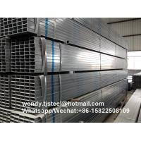 75x75mm Building material bs1387 Hot Dip Galvanized Square Steel Pipes