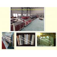 Quality Stone of PVC plastic Marble profile making machine/extrusion line/production for sale
