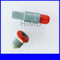 Wholesale double key 10 pin lemo self-latching plastic connector from china suppliers