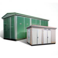 Wholesale ZBW Prefabricated Electrical Substation Box 30 - 2000KVA Capacity Customized Color from china suppliers