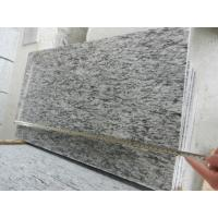 China Construction material natural stone Factory Supplier Sea wave white granite Polished Paving stone/blind paving stone on sale