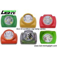 Wholesale Ultra Bright Cordless LED Safety Mining Cap Lamp with High Intensity PC Strong Material from china suppliers