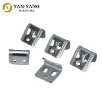 China Other Furniture Accessories Metal Spring Clip Half Plastic Covered 5-Holes Spring Clips on sale