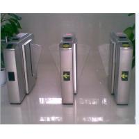 Ce approved stainless steelswing turnstile electronic