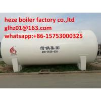 China Low temperature vacuum LNG tank, 30m3 liquid natural gas storage tank on sale