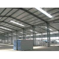 Wholesale Hot Rolled / Welded Steel Structure Poultry House With Fire Resistant Panel Wall from china suppliers