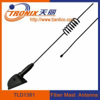 Wholesale 1 section spring form fiber mast car antenna/ passive car antenna TLD1381 from china suppliers