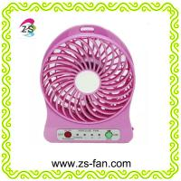 Wholesale OEM ODM Plastic USB Rechargeable Portable Mini Fan, Desk Fan from china suppliers