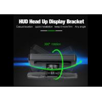 Wholesale Black Smartphone Heads Up Display HUD Holder Dash Mount Sticky Bracket PC + ABS Material from china suppliers