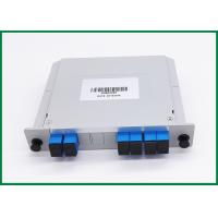 Wholesale 2 Channels Adm Add Drop Multiplexer / CWDM OADM Dual Fiber For OXC System from china suppliers