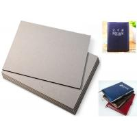 China Exercise Book use Single Layer Grey Board Sheets , 2mm Greyboard on sale