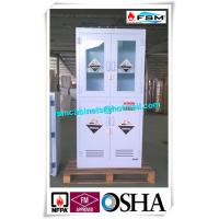 Wholesale Polypropylene Hazardous Material Storage Cabinets With Window For Laboratory / Chemical from china suppliers