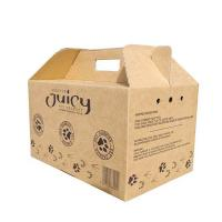 Juice Carrier Corrugated Packaging Box Color Printing Order