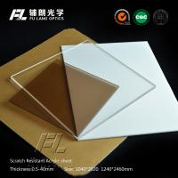 Wholesale Hard Coating ESD PMMA Acrylic Sheet Anti Reflective Performance , Good Impact Resistance from china suppliers