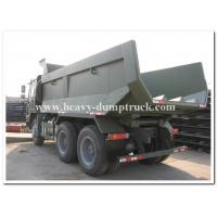 Buy cheap 16m3 truck bucket volume dump truck 24 tons to transport sand or stone in tough road in africa from Wholesalers