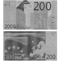 Wholesale Fake Euros 200 Silver Plated Banknote from china suppliers