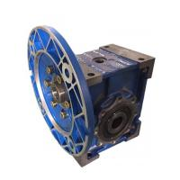 Wholesale worm gear box reducer with iron box and aluminium flange cover from china suppliers