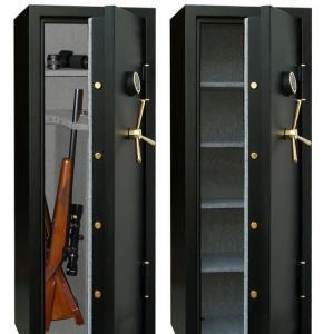 China Best Digtal Gun Safe Cabinet For Rifle Storage on sale
