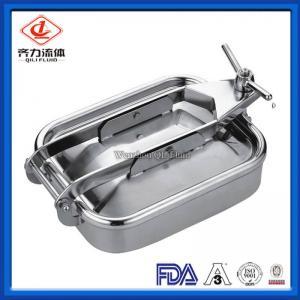 China Single Arm Rectangular Tank Manway Low Pressure Food Wine Processing  Use on sale