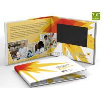 Customized printing 7inch lcd screen video brochure / lcd paper Video Brochure for advertising