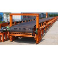Quality Bucket Elevator Conveyor Removeable Belt Transportor Rubber Black For Rice Mill for sale