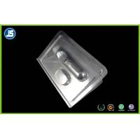 China Custom Transparent Plastic Clamshell Packaging With Double PS Blister Card on sale