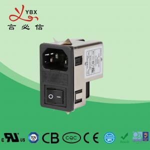 Wholesale Yanbixin 1A-10A 120 250VAC Inline EMI Filter / AC Socket EMI EMC Filter from china suppliers