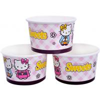 Wholesale 8oz 12oz Custom Printed Ice Cream Containers , Disposable Ice Cream Bowls from china suppliers