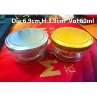 Wholesale High Transparent Glass Caviar Packaging Jar 1oz 50-60gram FDA Approved from china suppliers