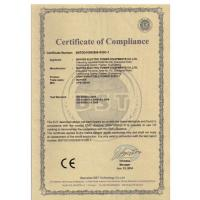 Baykee Electric Power Equipments Co., Ltd Certifications