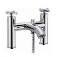 Wholesale Bathtub Side Deck Mounted 2 Function Modern Bath Shower Mixer Taps from china suppliers