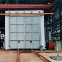 Wholesale Recycling Type Shot Blasting Chamber , Industrial Blast Cabinet For Castings Surface Cleaning from china suppliers