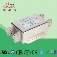 Wholesale 120V 30A 250VAC AC Power Noise Filter / AC Line EMI Filter Metal Case from china suppliers