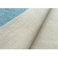 Durable Double Faced Wool Fabric Warm Feeling OEM / ODM Available