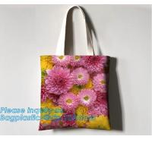China 100% organic cotton handle shopping bag,06-12 OZ canvas fashion tote custom long handle print logo cotton bag bagease on sale