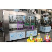 Buy cheap Glass Bottle Filler Machine Automatic Juice / Tea Bottling Filling Machine 6000 - 8000BPH from Wholesalers