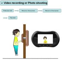 Buy cheap WiFi Peephole Door Viewer Digital Door 130 Degree Wide View Angle from wholesalers