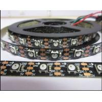 Wholesale Black PCB with black ws2812b led chip 30leds 60leds 72leds 144leds WS2812B LED Strip (4PIN) similar to SK6812 from china suppliers