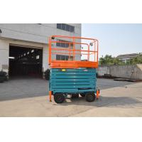 Buy cheap Electric Motorized Scissor Lift with 11m Platform Height for Shopping Mall from wholesalers