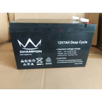 Wholesale 6FM7L 12v 7Ah Long Life Lead Acid Battery F250 Terminal from china suppliers