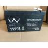 Buy cheap 6FM7L 12v 7Ah Long Life Lead Acid Battery F250 Terminal from wholesalers