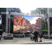 Wholesale Large Hanging Led Panel / P5 Outdoor Stage LED Video Wall Rental Screen Event Hire from china suppliers