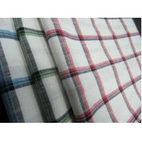 China 55%LINEN 45%COTTON  YARN DYED   FABRIC WITH CHECKS   CWT#3214 on sale
