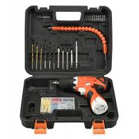 Wholesale Lithium Battery 12V Cordless Drill Tool Set 78 Piece With Drill Bits / Screwdriver Bits from china suppliers