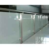 Wholesale Silkscreen Toughened glass panel railings Laminated CE Standard from china suppliers