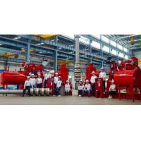 China Petrochemical Vertical Lift Pump , Chemical Diesel Fire Pump Package on sale